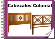 Colonial - Cabezales colonial