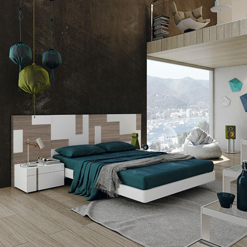 Comprar matrimonio chapa for Dormitorio cabecero blanco