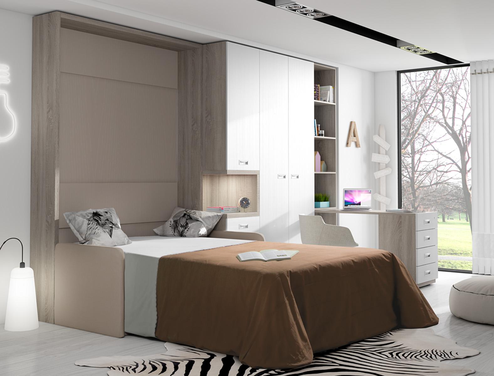 Cama abatible sofa matrimonio - Fabricante camas abatibles ...