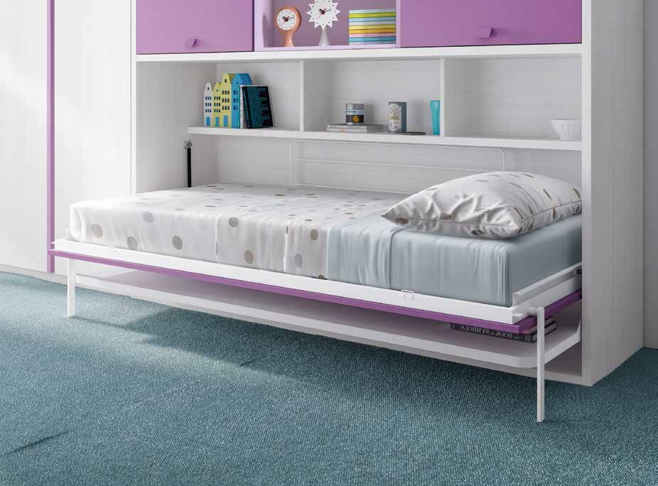 Cama abatible horizontal f353 - Cama plegable horizontal ...