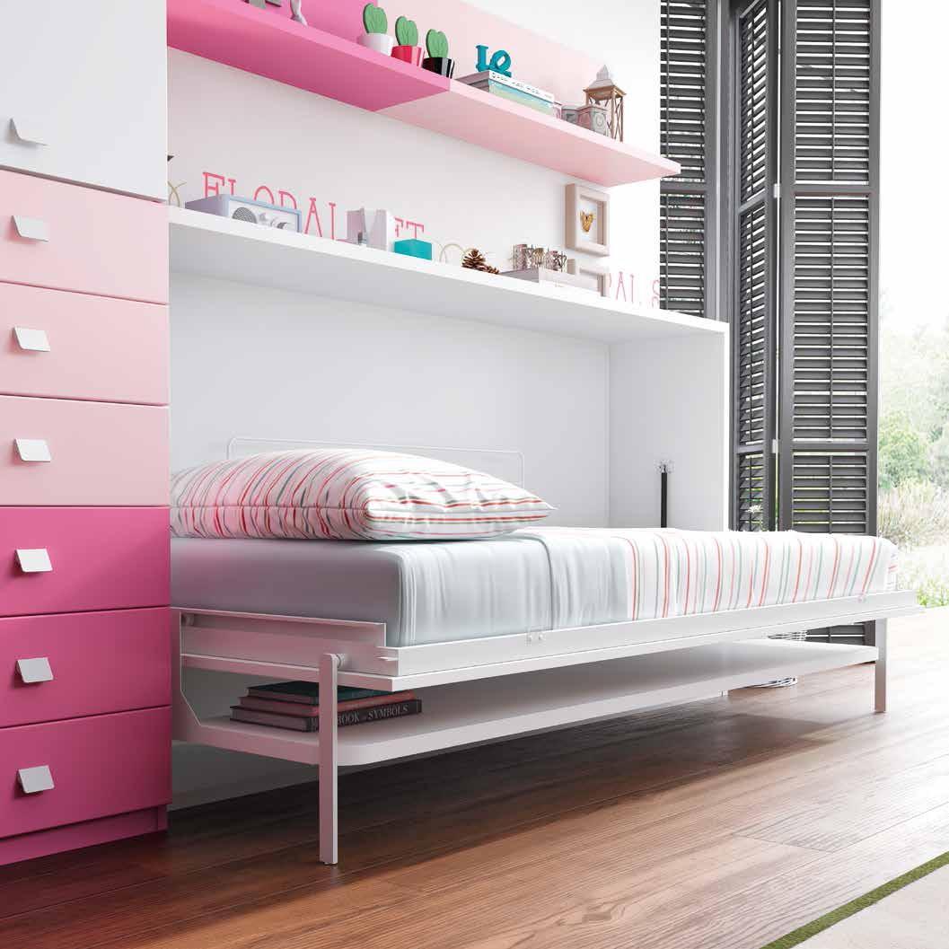 Litera abatible f360 escritorio - Camas plegables horizontales ...